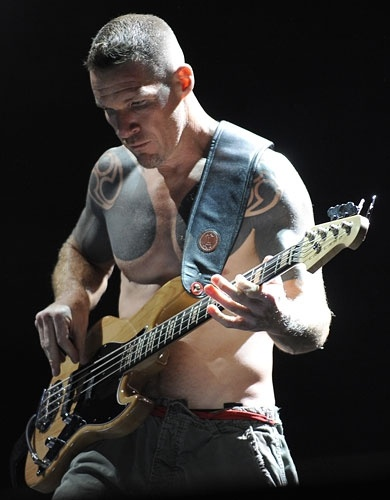Tim Commerford of Rage Against the Machine