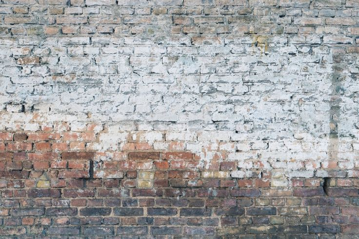 Crumbling Brick Wall Mural