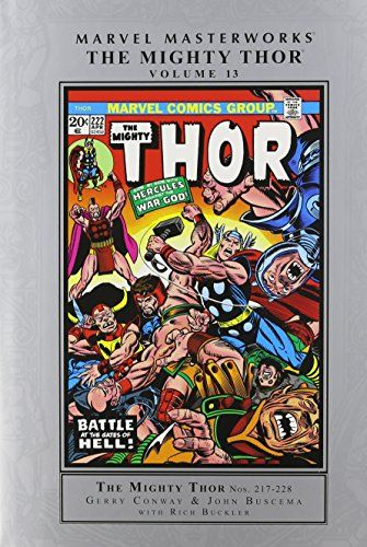 Marvel Masterworks: The Mighty Thor Volume 13 @ niftywarehouse.com #NiftyWarehouse #Nerd #Geek #Entertainment #TV #Products