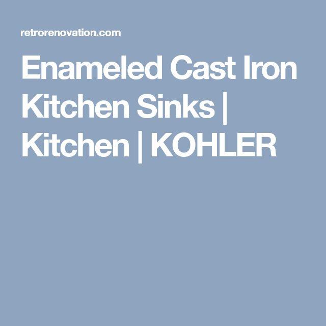 Enameled Cast Iron Kitchen Sinks | Kitchen | KOHLER