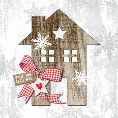 3743 Servilleta decorada Navidad