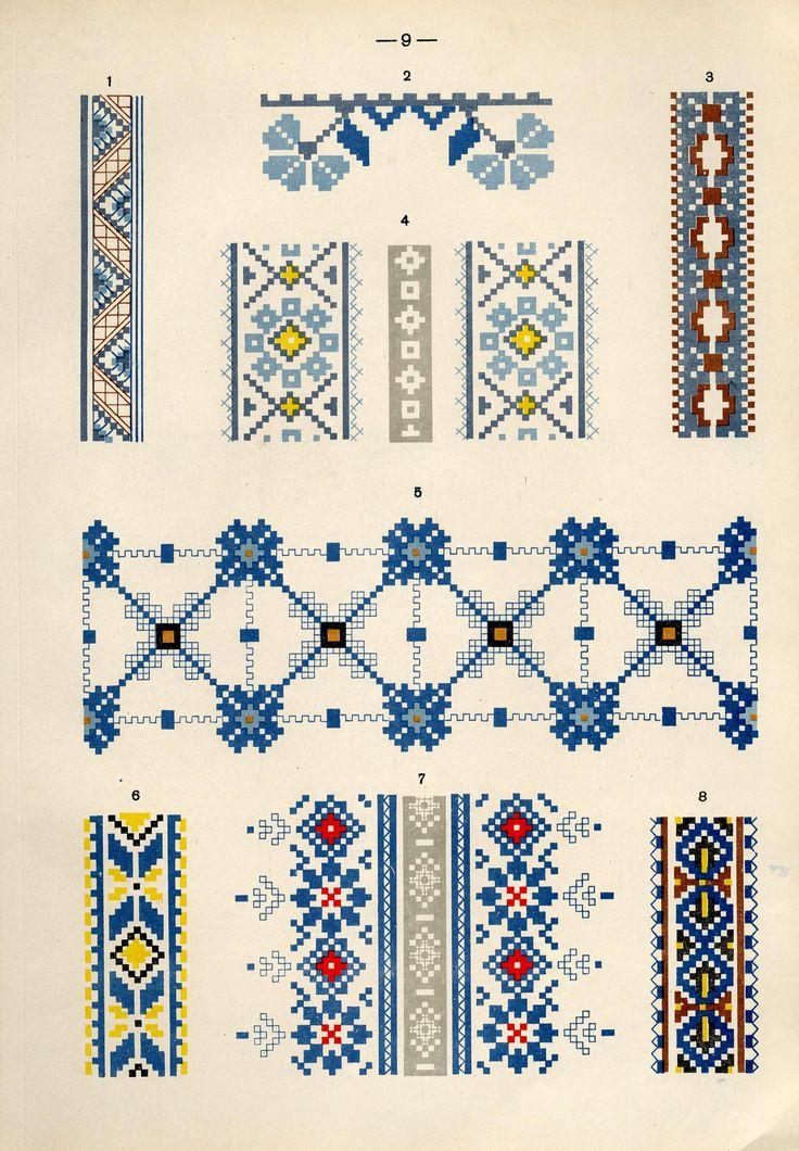 https://flic.kr/p/fQaG6K | Белорусский народный орнамент - 1953_99 | Belarusian ethnic embroidery