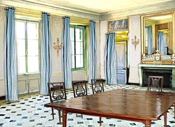 73 best images about versailles le hameau de la reine au for Trianon plan salle