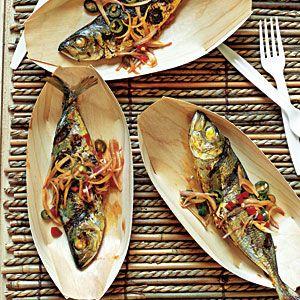 Ikan Bakar (Barbecue Fish)   MyRecipes.com