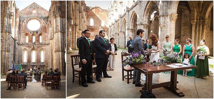 Romantisk italiensk utendørsbryllup - BryllupsinspirasjonBryllupsinspirasjon