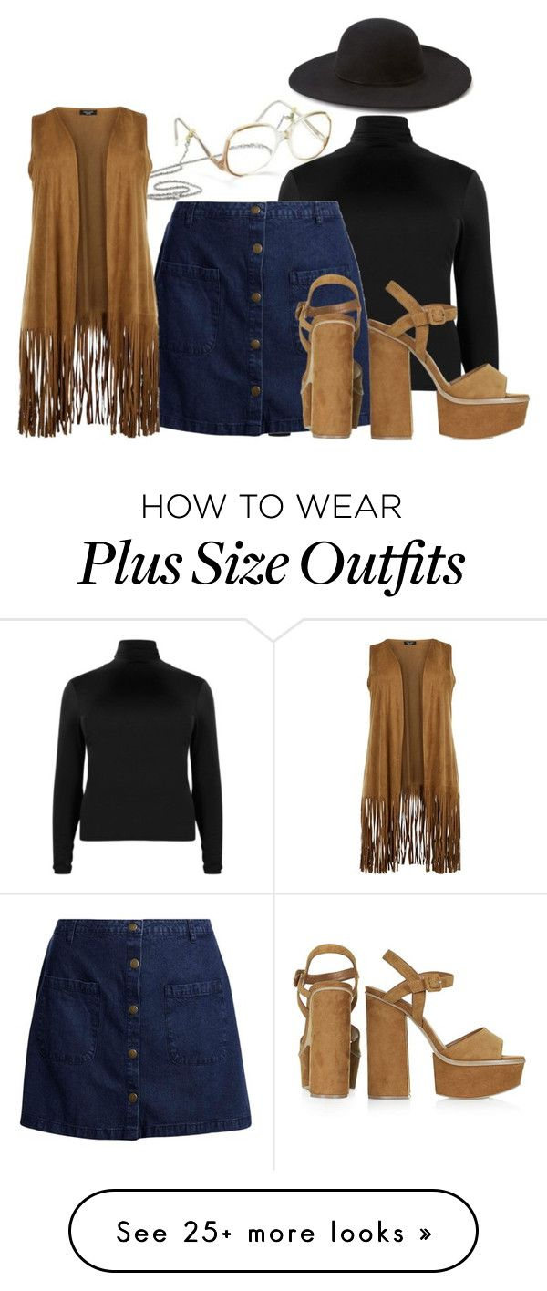 """""""Plus Size 70s"""" by kurvy-katie on Polyvore featuring Topshop, Forever 21, plussize, 1970s, 1970 and plussizefashion"""