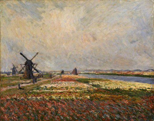 Van Gogh Museum - View of the Prins Hendrikkade and the Kromme Waal in Amsterdam