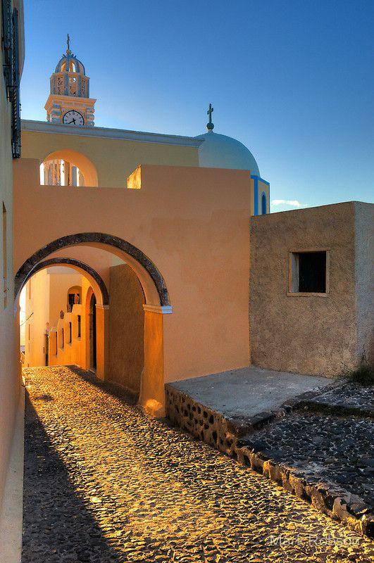 The Golden Path, Fira, Santorini