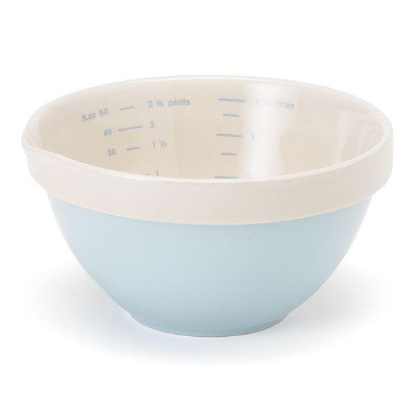 Jamie Oliver Ceramic Measure Make And Bake Mixing Bowls