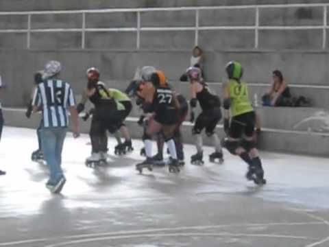 Roller Derby Colombia, Bogota Bone Breakers. Video. Armenia Colombia