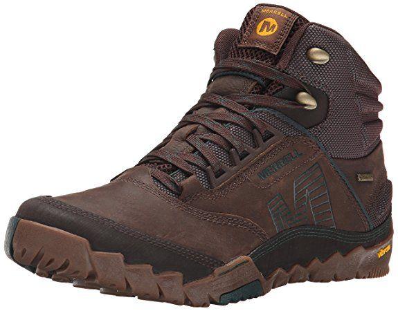 Merrell ANNEX MID GTX - botas de senderismo de cuero hombre: Amazon.es: Zapatos y complementos
