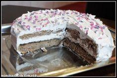 ♥ GAŠTANOVÁ TORTA ♥  bez múky a pridaného cukru !!!