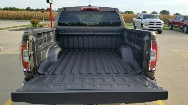 Pickups Plus Springfield installed a spray on bedliner to this 2015 GMC Canyon.  We have all our bedliner needs at Pickups Plus Springfield; drop in, spray on and carpet.  Visit us at 3941 Pintail Dr. Springfield, IL. #smallbusiness #sprayonbedliner