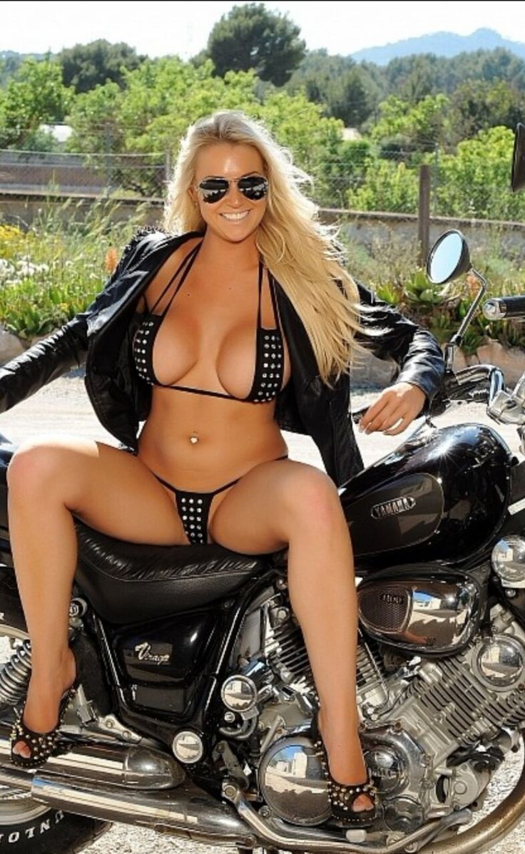 hot nude biker woman