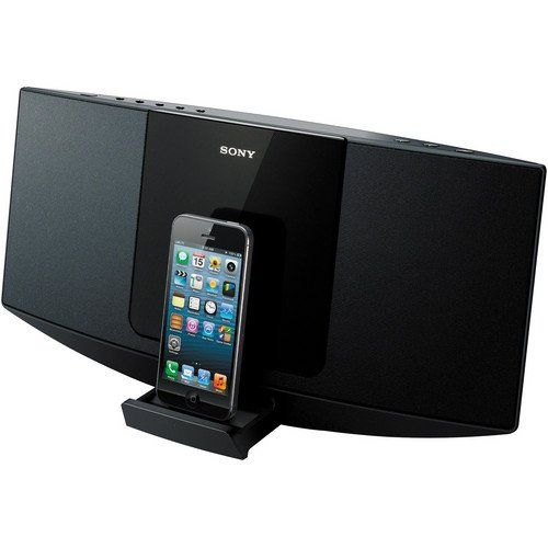 Sony Desktop Music Stereo System With Lightning 8pin Connector Dock For  Iphone 5 Ipod Touch 5th