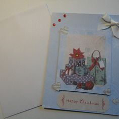 Carte de noël avec enveloppe