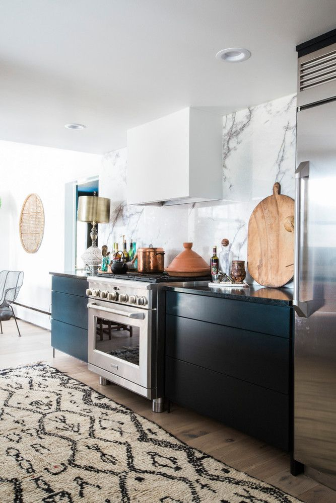2198 best the kitchen images on pinterest kitchens for Famous black interior designers