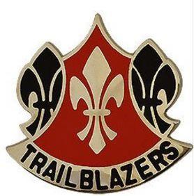 70th Training Division (Functional Training) Unit Crest (Trailblazers)