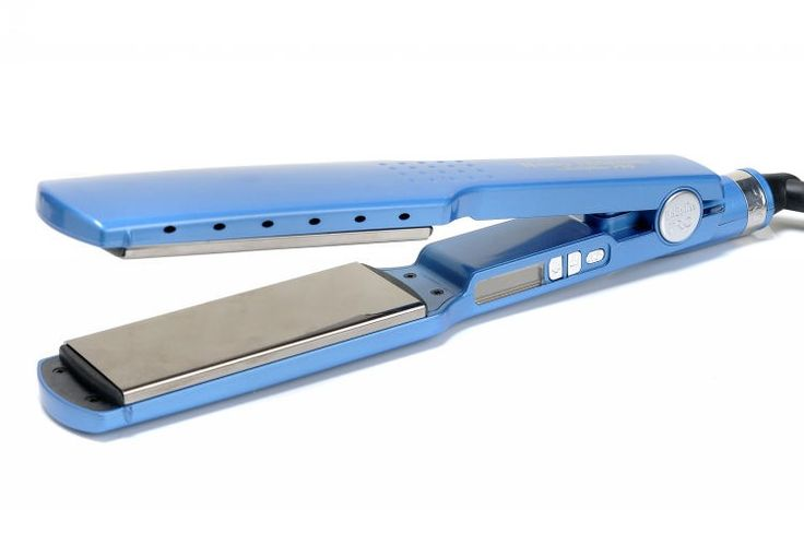 "New ultra-smooth Titanium Plates .  Up to 450 Degree F straightens hair.  Can be with 40% Faster,  Nano Titanium Plates, Straightener or Curl ,  World leader in Professional Products Nano Titanlum Plates,  Led Temperature Settings,  Digital Ionic Straightener,  Intergrated Ceramic Heater-1 1/4""Plate Width,"