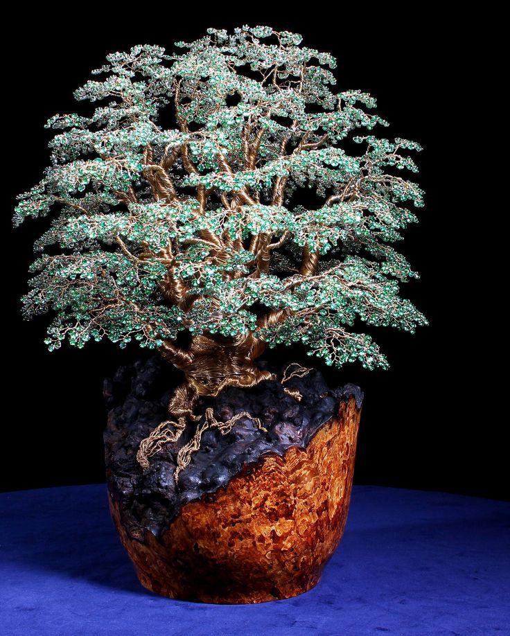 Aleric, Interior Design, Alaric, Alarik Greenland, crystal Wire Tree sculptor…