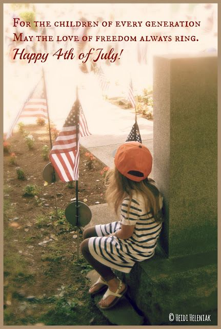 For the children of every generation, may the love of freedom always ring. Girl with American flags.    Taken in Dunellen, NJ