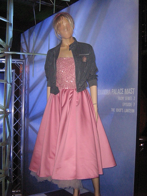Roses costume, from The Idiots Lantern (2006), via Flickr.