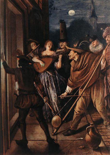 Steen, Nocturnal Serenade c1675