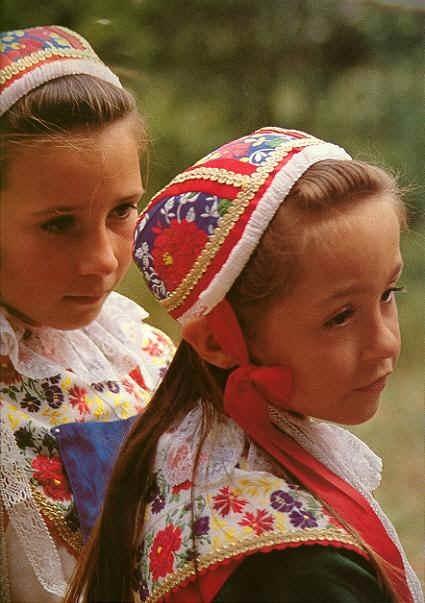 Plougastel-Daoulas - Costumes d'enfants