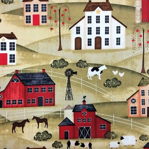The Way Home - Farm Scene