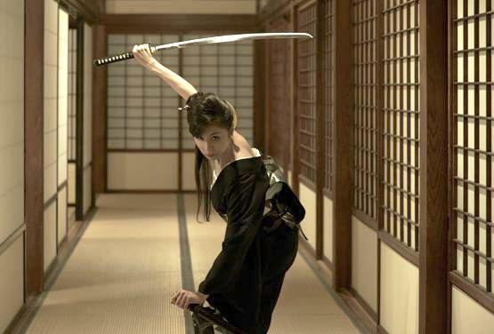 It's a sword. Hold it like one, dammit! | Vintage Ninja