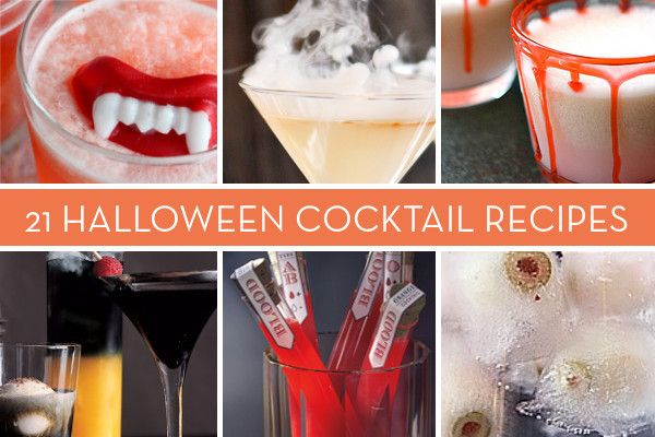 20+ Spooky Halloween Cocktail and Punch Recipes