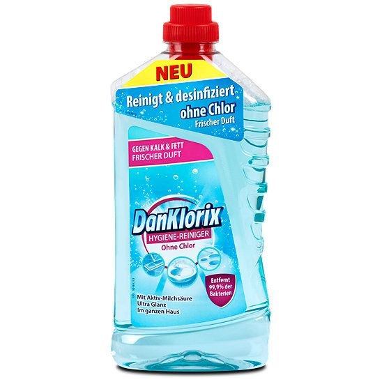 DanKlorix Hygiene-Reiniger Ohne Chlor, Allzweckreiniger günstig kaufen bei dm.