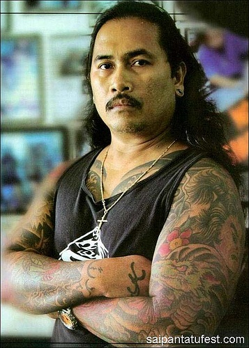 Dragon Edong is a famous pinoy Tattoo artist in US Territory