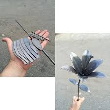 Image result for metal flowers