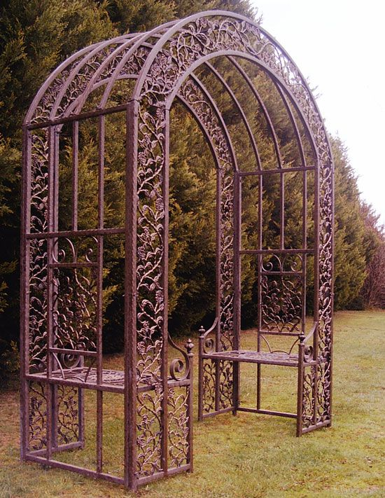63 best Arches & Trellis Wrought iron images on Pinterest