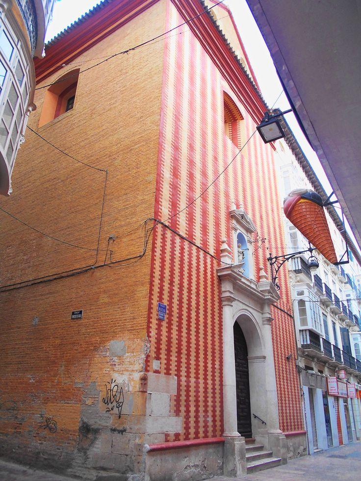 Iglesia de la Concepción. Ahora es la capilla del Colegio de las Esclavas, cercano.
