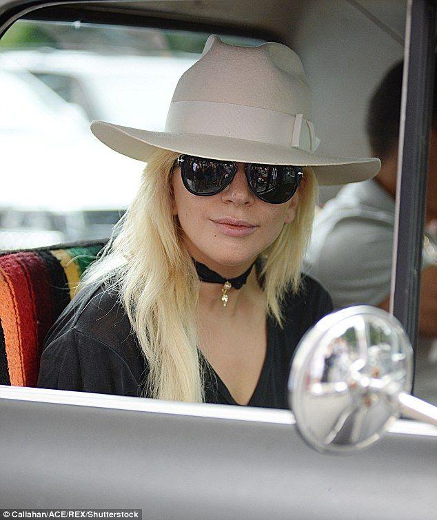 Vintage vixen! Lady Gaga cruises through NYC in vintage pickup truck