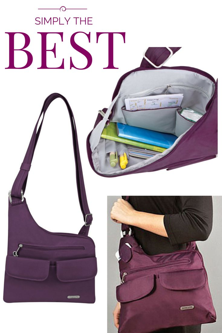 The Travelon Anti Theft Cross Body Rfid Blocking Bag Is A Great Travel