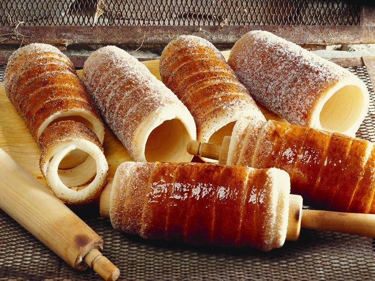 Baumkuchen auf ungarische Art 100 ml lauwarme Milch 1 Päckchen Vanillezucker 5…