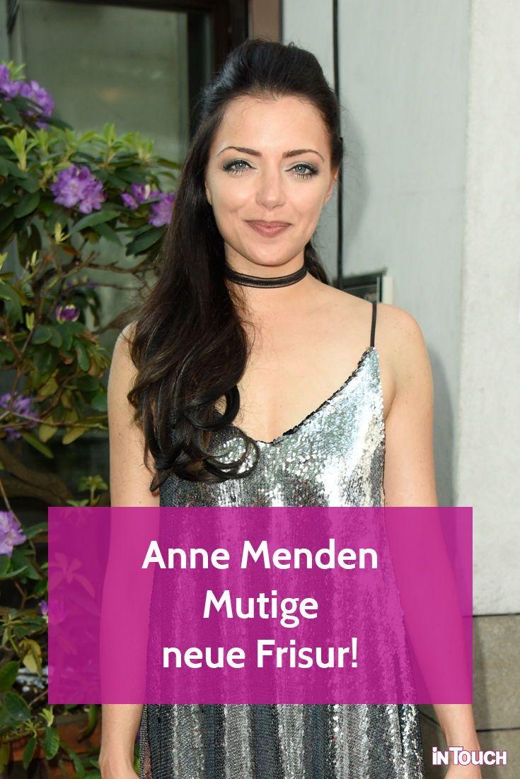 Anne Menden Neue Frisur Sie Uberrascht Mit Grauen Haaren Frisuren Neue Frisuren Und Granny Look