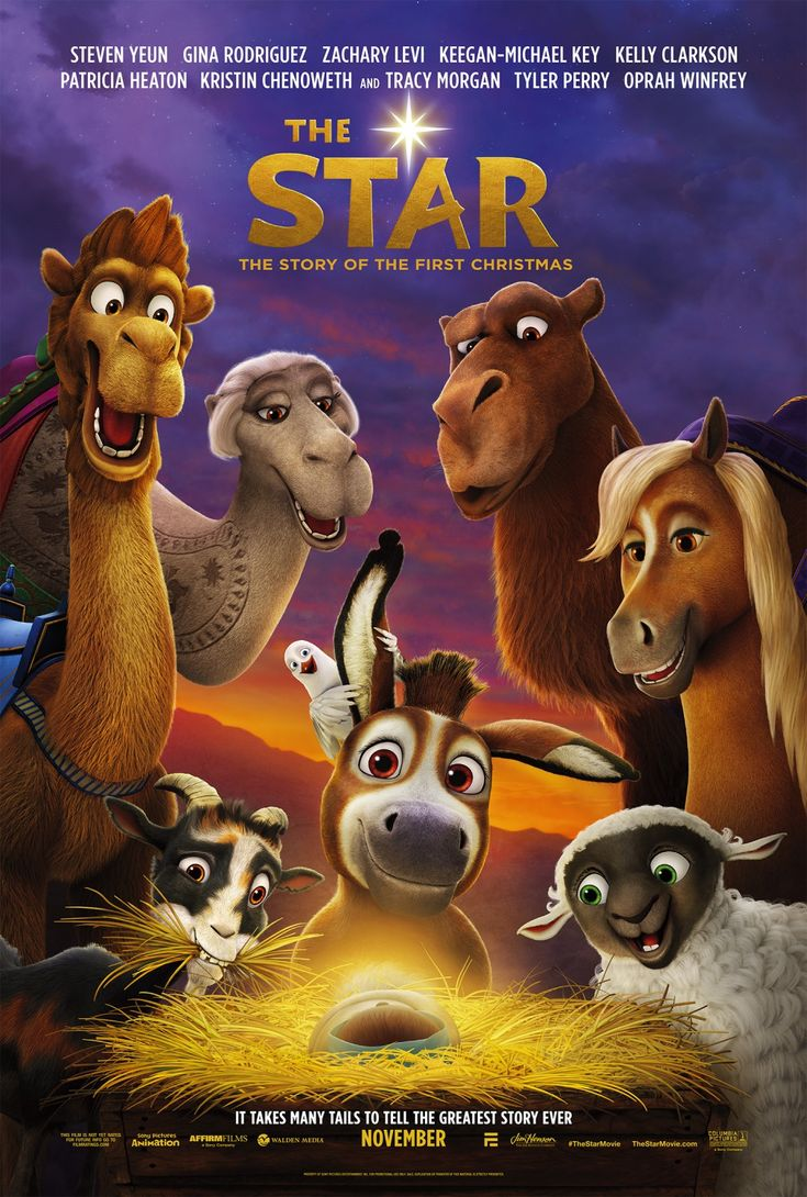 THE STAR movie review starring Steven Yeun, Gina Rodriguez, Keegan-Michael Key, Aidy Bryant, Christopher Plummer, Ving Rhames, Gabriel Iglesias, Anthony Anderson, Kelly Clarkson, Mariah Carey, Tyler Perry, Kristin Chenoweth, Tracy Morgan, Kris Kristofferson, and Oprah Winfrey!