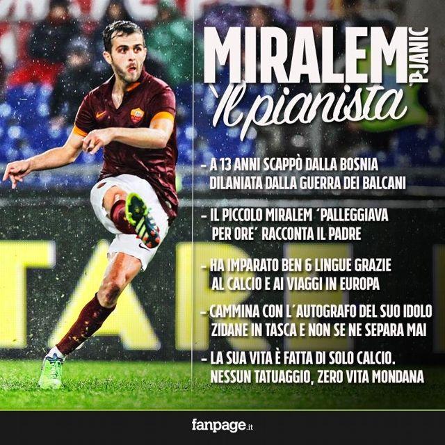 Sacrificio, sofferenza, passione, forgiano il carattere dei grandi campioni. Questo è Miralem #Pjanić.