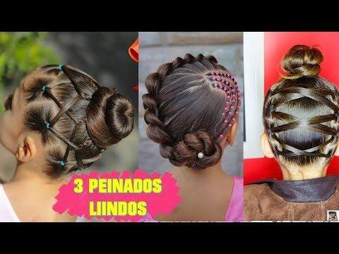 3 Peinados Faciles Elegantes Y Rapidos Para Ninas Peinados