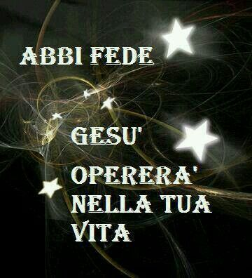 Abbi Fede...