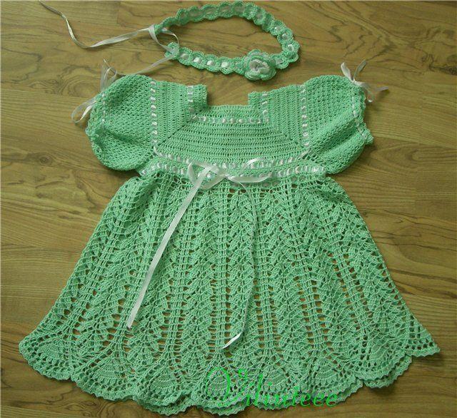 trico y crochet madona m a vestido de bautizo para ni as a crochet ganchillo con patr n. Black Bedroom Furniture Sets. Home Design Ideas