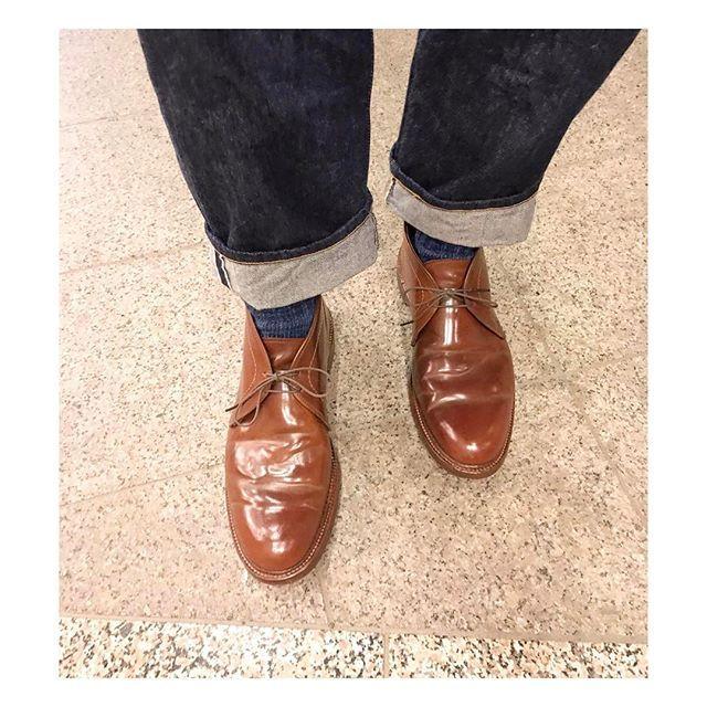 2017/05/02 22:17:21 y_n08 今日の足元👞👞 . . #alden #aldenshoes  #shellcordovan  #madeinusa  #levis #levis501  #vintagedenim  #mensfashion #mensstyle #instafashion #fashion #fashionblogger  #今日の足元 #今日の靴 #オールデン #足元くら部  #着画くら部  #着画 #リーバイス #デニム #おしゃれ  #お洒落