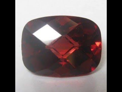 Batu Permata Natural Garnet Pyrope Merah Buff Top 1.76 Carat