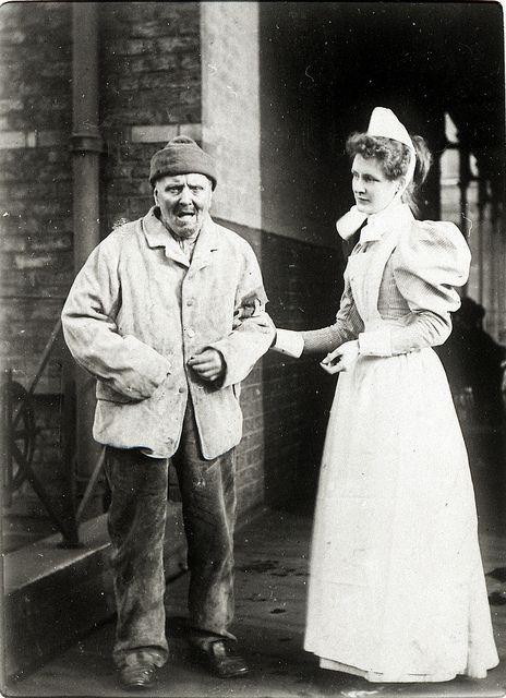 Man, Crumpsall Workhouse, c.1897