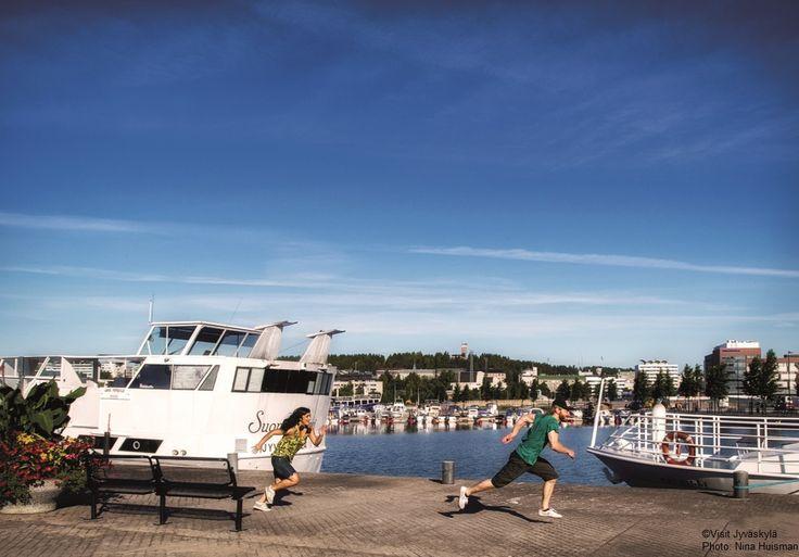 Lutakko harbour. ©Visit Jyväskylä Photo: Nina Huisman.