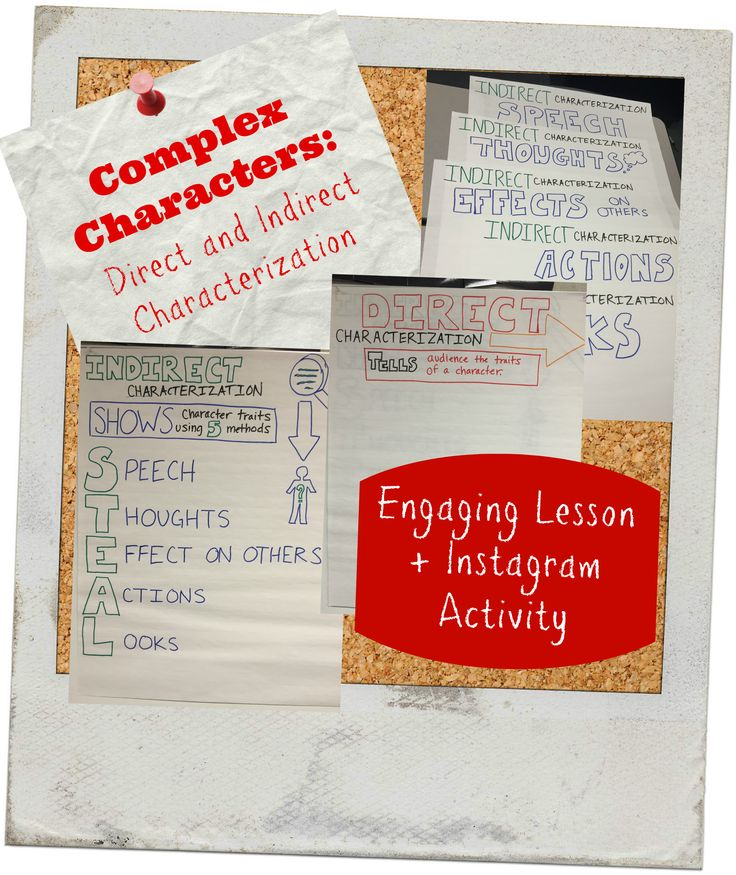 An essay on characterization